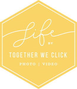LIFE by Together We Click YELLOW LOGO brand mark