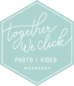 Together We Click mint LOGO brand mark