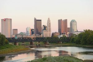City Skyline Columbus by Wheelhouse Collective